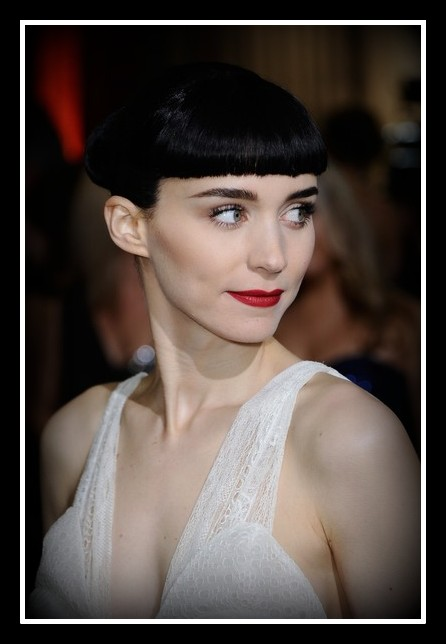 Rooney Mara Hair and Makeup at the 2012 Oscars on Exshoesme.com