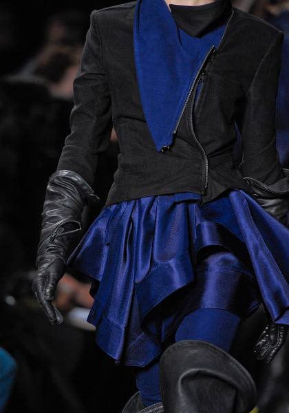 Ann Demeulemeester FW12 Blue and Balck on Exshoesme.com
