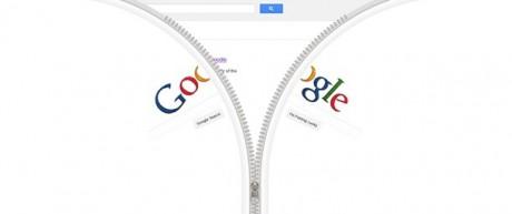 Google Zipper Doodle - Open on Exshoesme.com