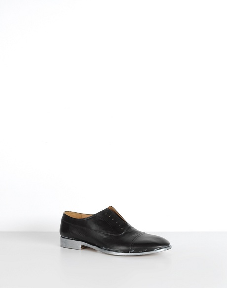 Margiela Silver Soled Men's Shoes on Exshoesme.com