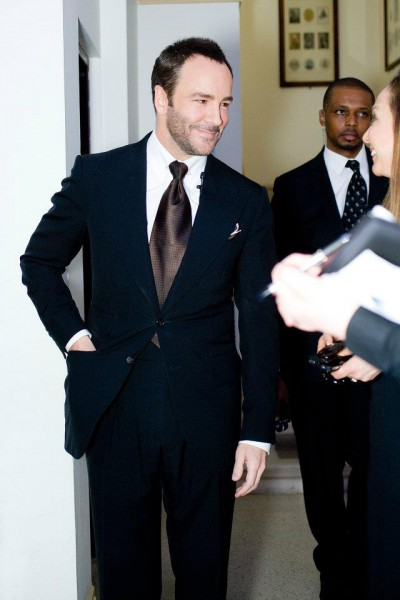 Tom Ford at the Vogue Festival April 2012 on Exshoesme.com