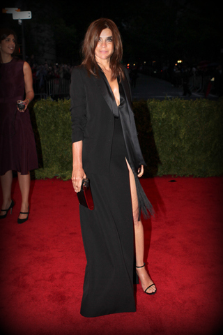 1. Carine Roitfeld, in Givenchy Haute Couture at the Metropolitan Museum of Art Gala 2012 on Exshoesme.com