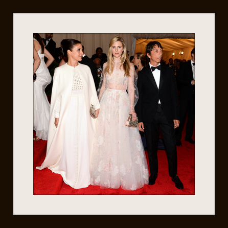 2. Maria Grazia Chiuri in Valentino at the Metropolitan Museum of Art Gala 2012 on Exshoesme.com