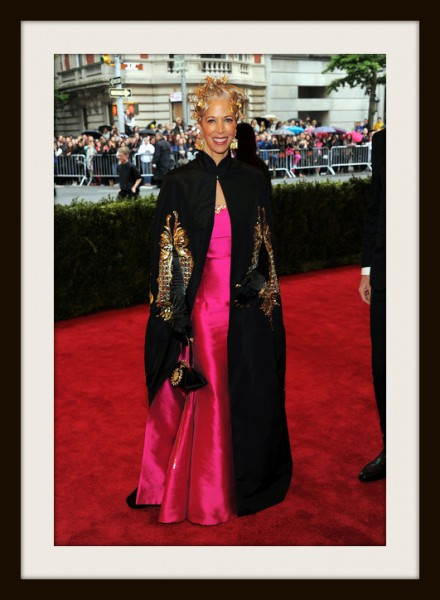 7. Linda Fargo in Naeem Khan at the Metropolitan Museum of Art Gala 2012 on Exshoesme.com