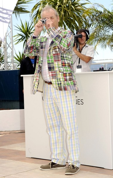 Bill Murray at Moonrise Kingdom Photo Call at Cannes Film Festival May 16 2012 on Exshoesme.com.