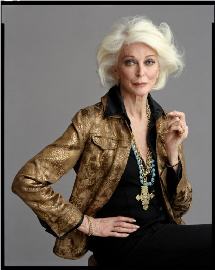 Carmen Dell'Orefice in About Face Supermodels Then and Now on Exshoesme.com