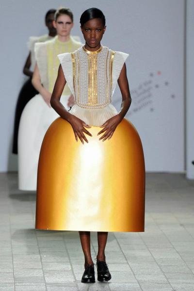Serena Gili design at Central Saint Martins Show May 2012 on Exshoesme.com