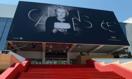 The Red Carpet Stairs Await at the 65th Annual Cannes Festival May 16 2012 on Exshoesme.com.