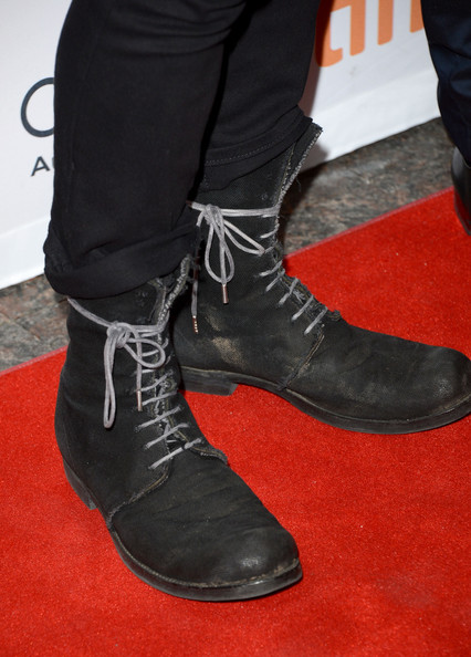 Ewan McGregor in lace-up boots at The Impossible premiere at The Toronto International Film Festival 2012 on Exshoesme.com