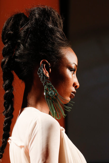 Jean Paul Gaultier SS13 Couture Earring on Exshoesme.com
