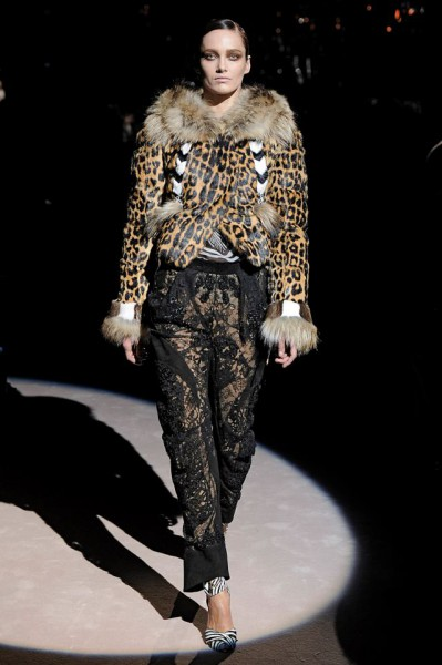 Tom Ford FW13 leopard and lace on Exshoesme.com