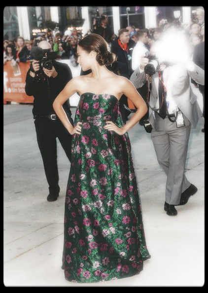 11.Alicia Vikander in Erdem at The Fifth Estate premiere at the 2013 Toronto International Film Festival #TIFF13 on Exshoesme.com. Jason Merritt photo