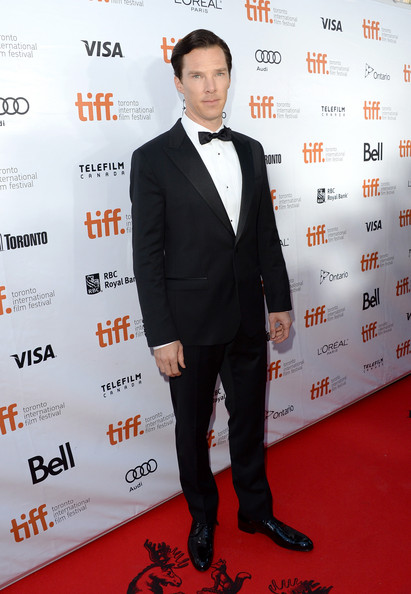 Benedict Cumberbatch at the Premiere of The Fifth Estate at the 2013 Toronto International Film Festival #TIFF13 on Exshoesme