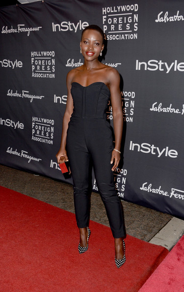 Lupita Nyong'o at the InStyle party at the 2013 Toronto International Film Festival #TIFF13 on Exshoesme.com. Alberto E. Rodriguez photo