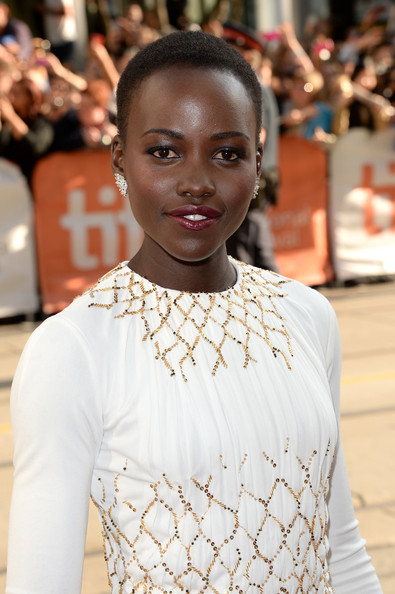 Lupita Nyong'o at the premiere of 12 Years a Slave at the 2013 Toronto International Film Festival #TIFF13 on Exshoesme.com. Jason Merritt photo