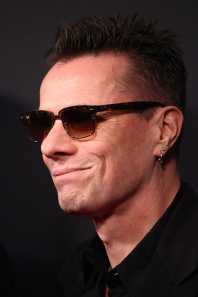 Larry Mullen Jr. at the Weinstein Company's 2014 Golden Globe Awards after party on Exshoesme.com. Tommaso Boddi photo