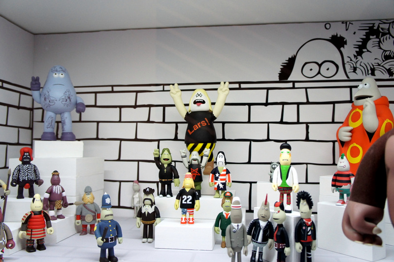 18. A collection of characters from the Pon Pon Pony Jam from This Is Not A Toy Exhibition Photo by Jyotika Malhotra from Exshoesme.com