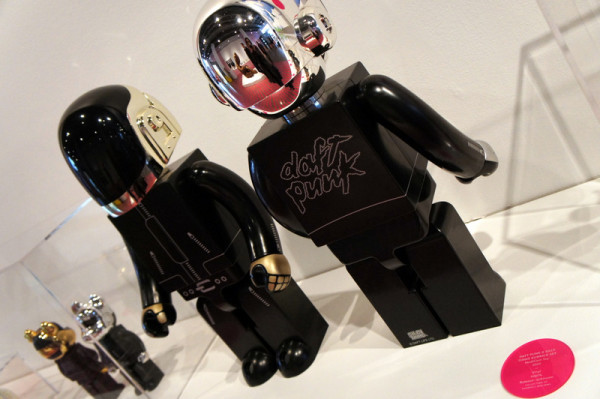 7. Daft Punk and Silly Thing Kubrick Set at This Is Not A Toy Exhibition Photo by Jyotika Malhotra from Exshoesme.com