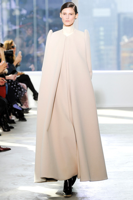 Delpozo FW14 monastic cape coat on Exshoesme.com