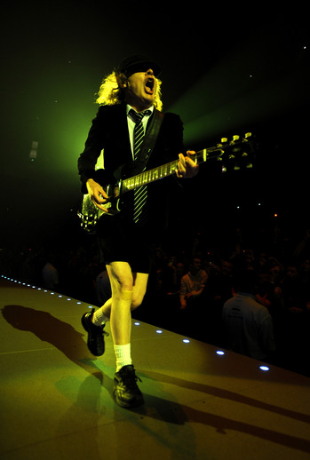Angus Young's rock uniform.