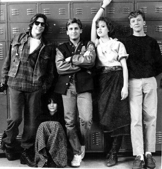 Breakfast Club Film Promotion Photo On Exshoesme Com