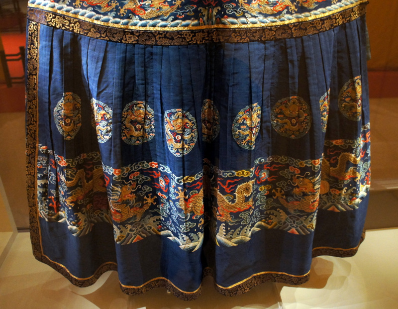 The Emperor's old clothesThe Forbidden City Exhibition at the Royal Ontario Museum March 2014 on Exshoesme.com. Photo by Jyotika Malhotra