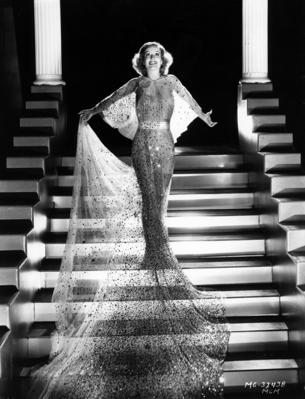 "Joan Crawford in the MGM film ""Dancing Lady,"" 1933 Publicity still courtesy of Photofest."