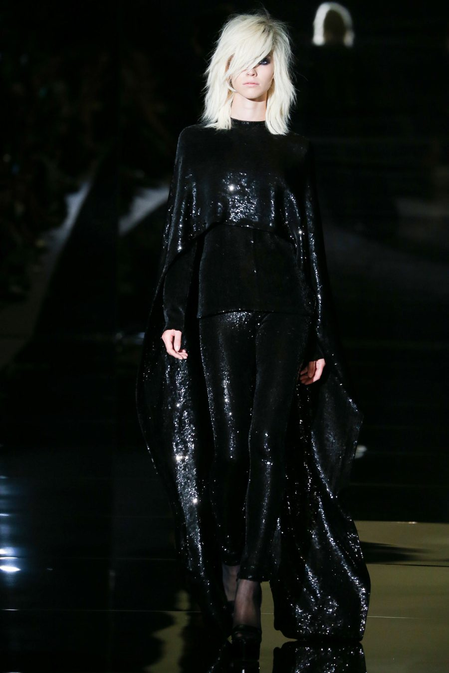 Tom Ford SS15 Sequined Cape and Leggings on Exshoesme.com