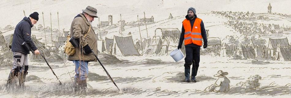 Metaaldetectiemarathon op een vergeten militair kampement