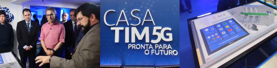 TIM, EXSTO e INATEL testam tecnologia 5G na Indústria e Educação
