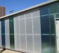 Translucent Panels | Battery Park Storage Facility ...