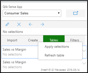 Add Sense for Excel version 2 – refresh your data | Extending Qlik