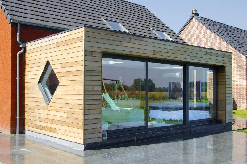 Kit extension maison bois avie home for Extension en bois kit