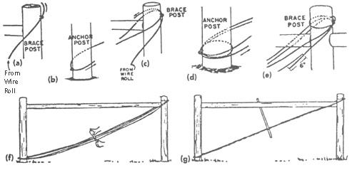 Figure 12. Correct procedure for threading the nine gauge