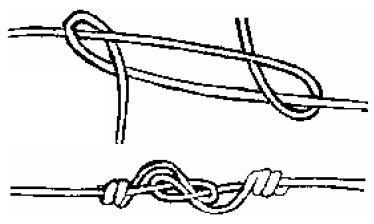 A better method for the figure 8 fence knot YouTube fencing