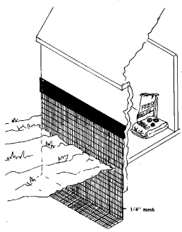 Figure 2. Feed sheds, corn cribs, and other existing wood
