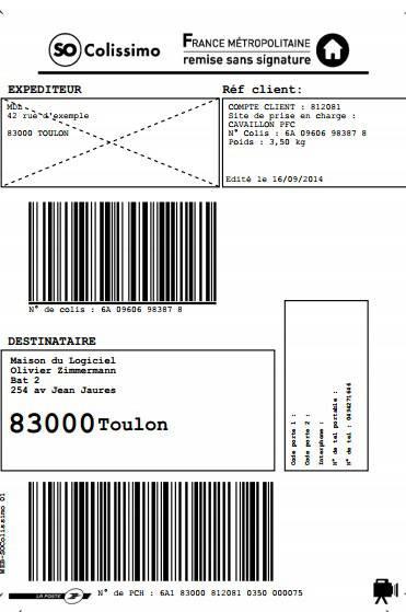 Colissimo Avec Ou Sans Signature : colissimo, signature, Etiquettes, Colissimo, National