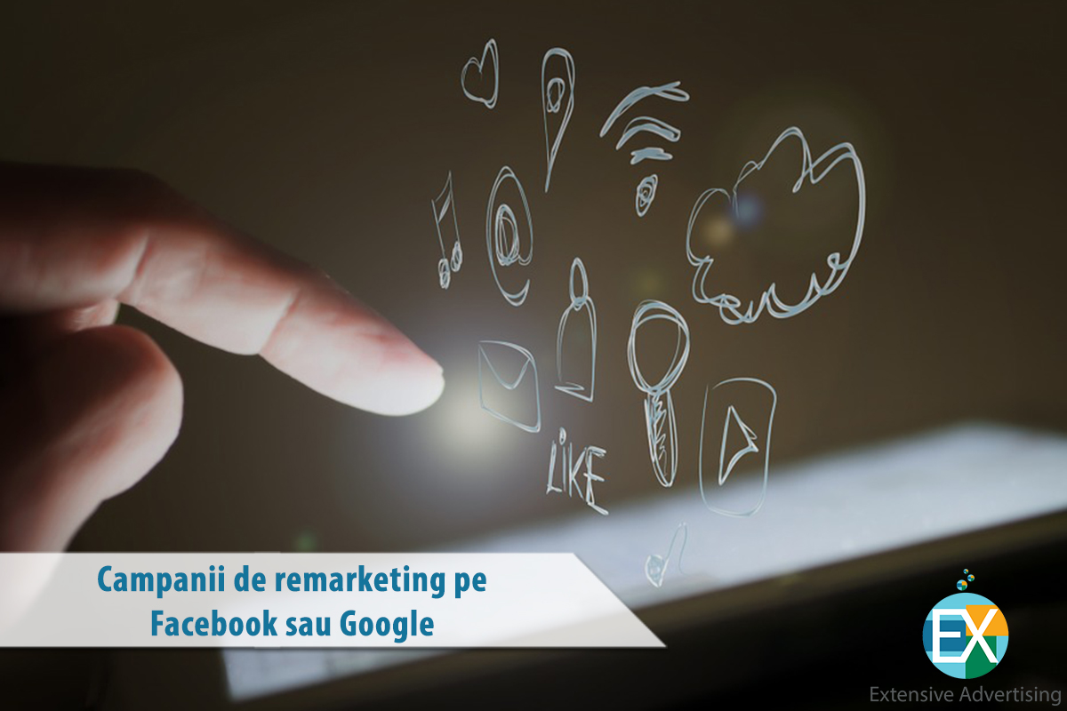 Campanii de remarketing pe Facebook sau Google!