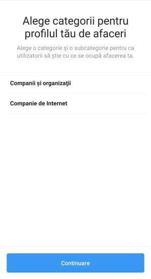 Pas 10 deschidere pagina Instagram pentru firma