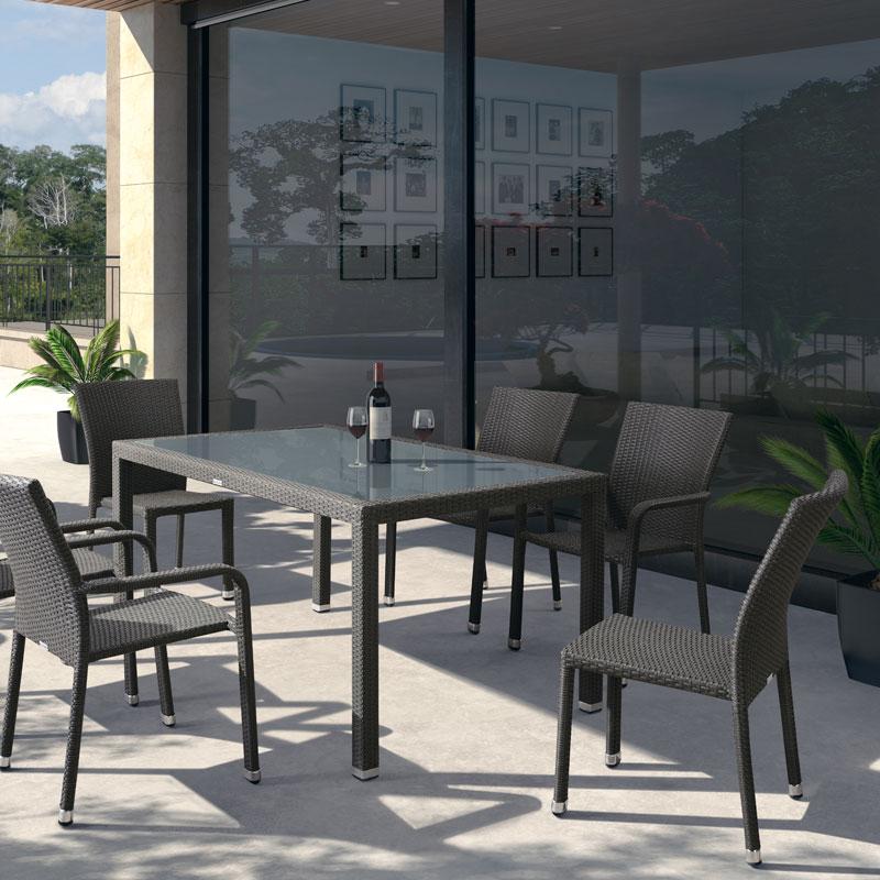Comedor Modica  Muebles de jardn terraza o patio  Exteria