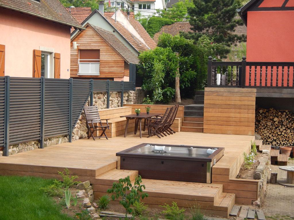 Jacuzzi Terrasse Bois Fabricant De Jacuzzis Spa 100 Bois Dans Le Var