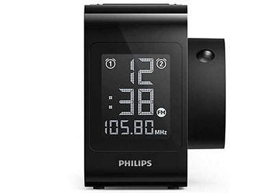 Philips AJ4800 Projector - Ραδιορολόι - Μαύρο
