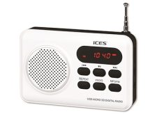 Lenco IMPR-112 - Φορητό Ραδιόφωνο MP3 player - Λευκό
