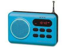 Lenco IMPR-112 - Φορητό Ραδιόφωνο MP3 player - Μπλε