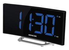 Sencor SDC 120 - Ρολόι - Ξυπνητήρι - Curved Blue Led
