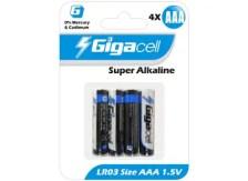 Μπαταρίες Gigacell LR03 ΑΑA x4