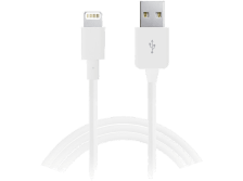 PURO Lightning Cable Apple 2.1 MFI iPod/iPhone/iPad White - (CAPLTWHI)