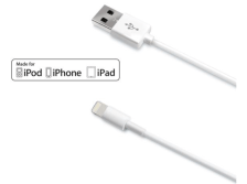 CELLY Lightning Cable to USB 2.4 A 1m White