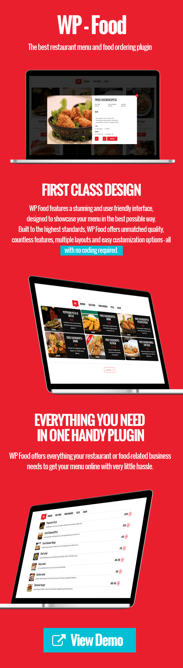 WP Food - Restaurant Menu & Food ordering - 2