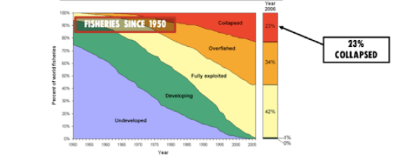 Fisheries since 1950